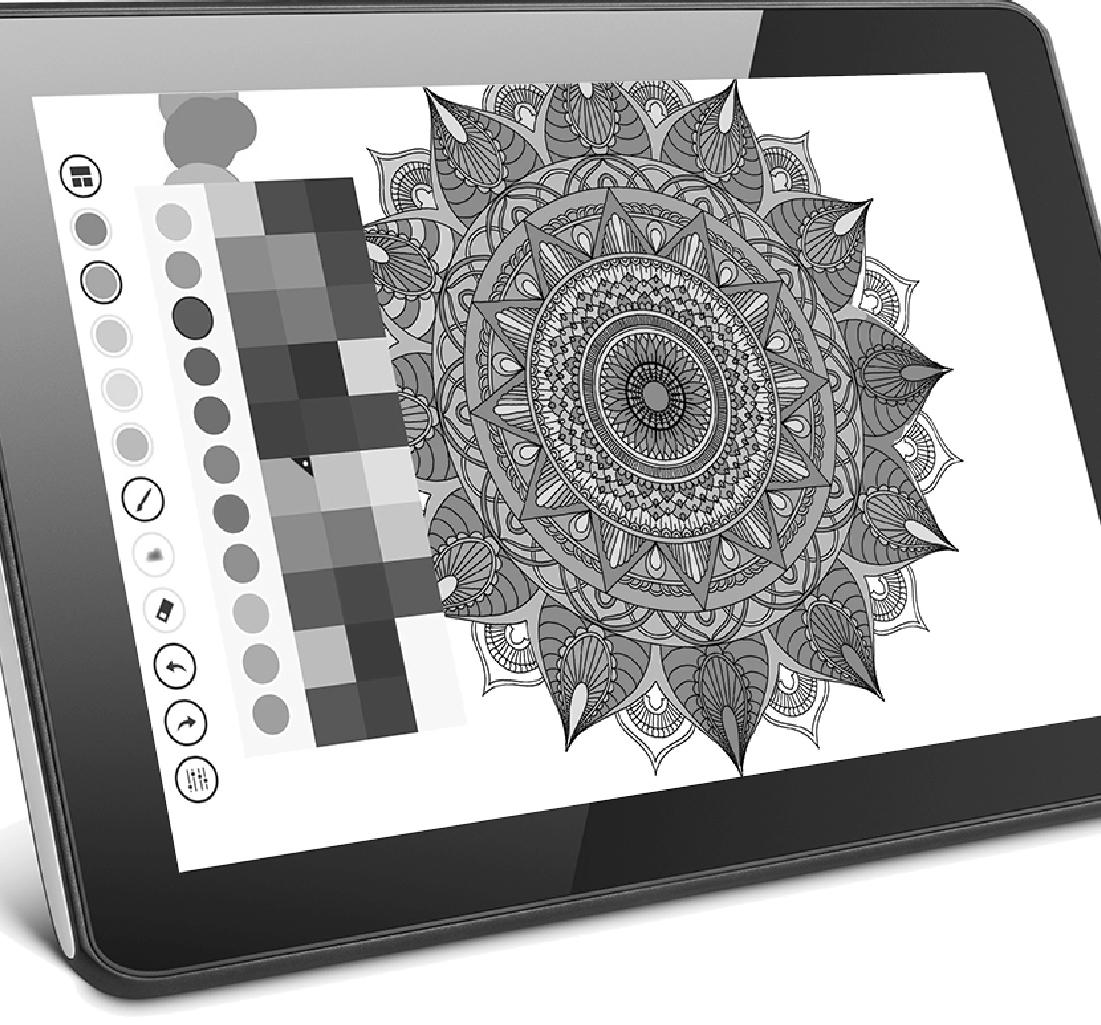 Application de coloriage Mandala par 8 pix développeur d'applications mobiles.