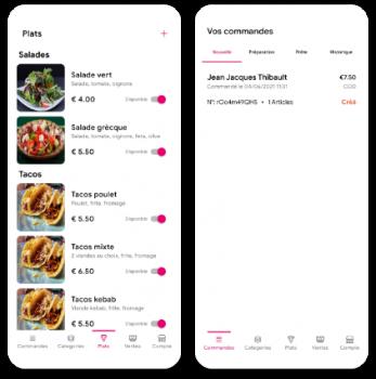 Application de click and collect par 8 pix développeur d'applications mobiles.